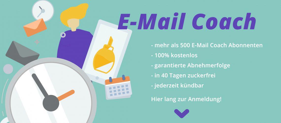 40 Tage ohne Zucker E-Mail Coach