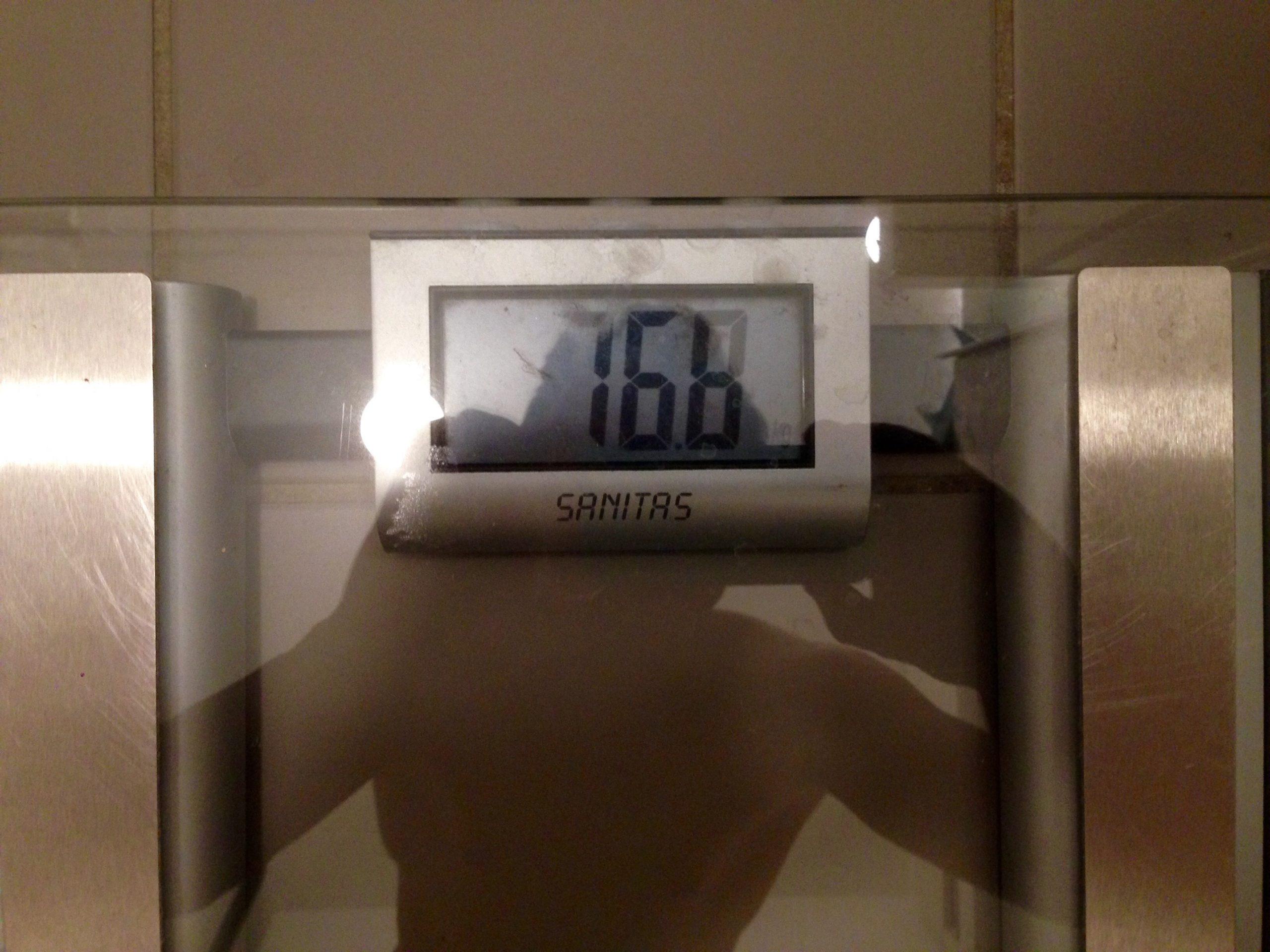 40 Tage ohne Zucker Challenge - Tag 20_2,7kg abgenommen