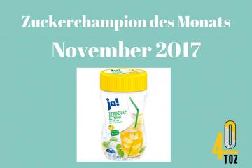 40TOZ: Zuckerchampion November 2017