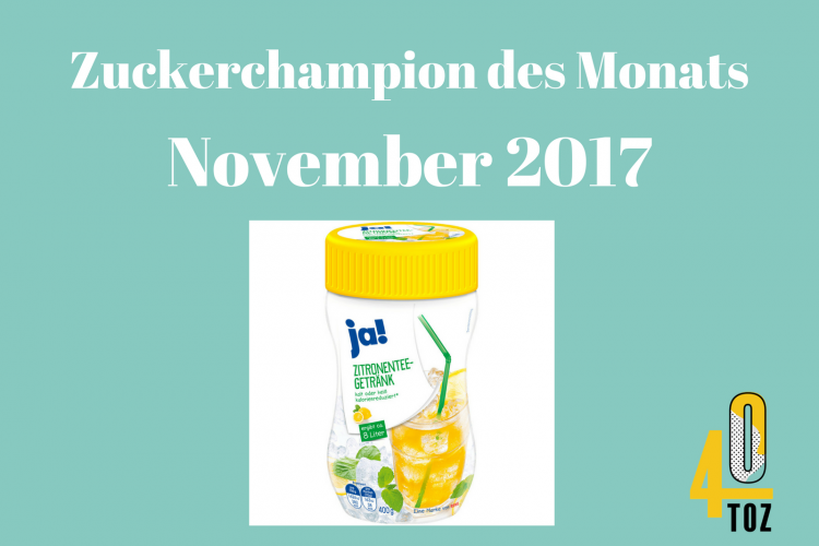 40TOZ: Zuckerchampion November 2017