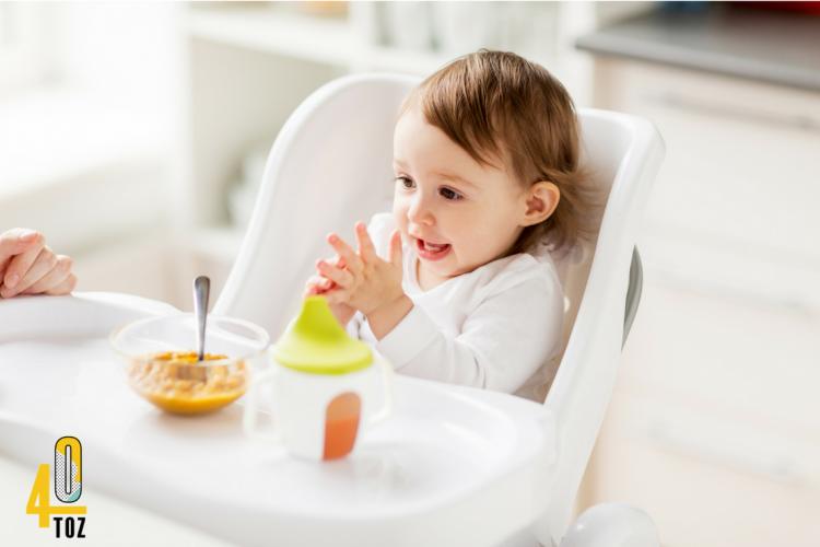 Babynahrung und Kindernahrung sind stark verzuckert