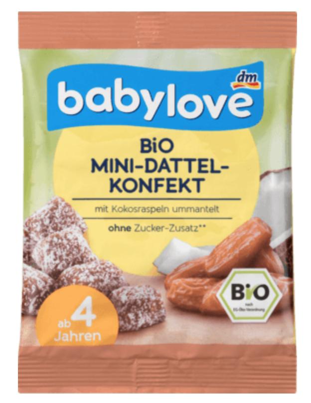 babylove - Bio Mini-Dattel-Konfekt
