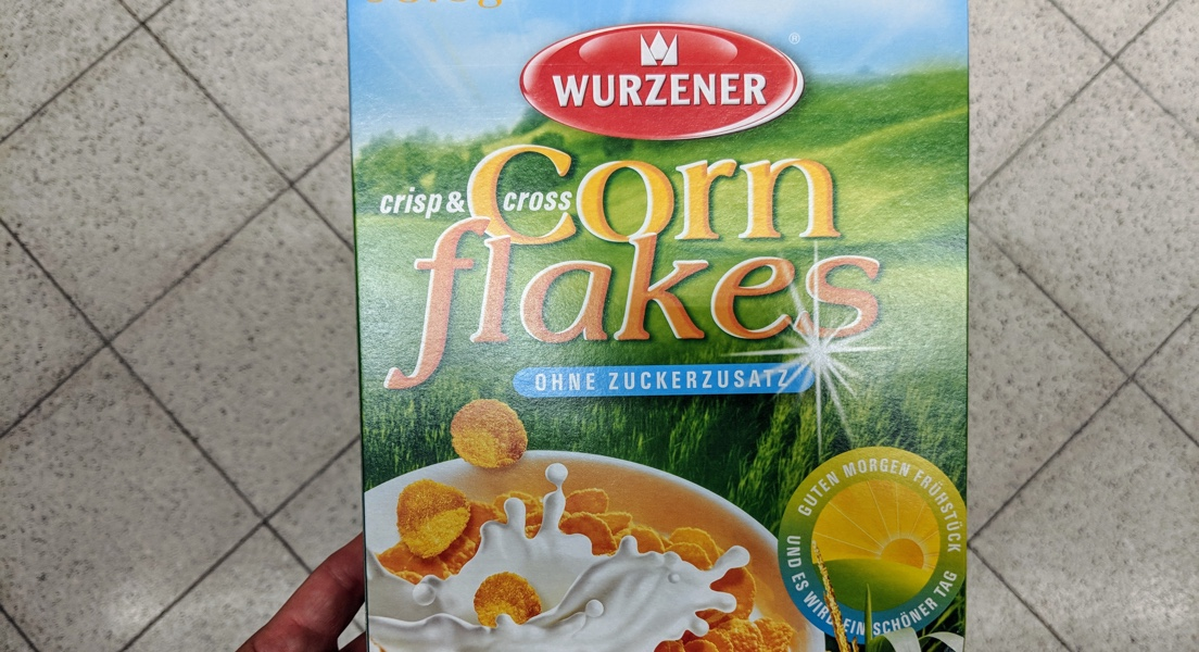 Cornflakes ohne Zuckerzusatz
